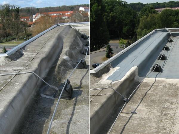 01 – Reparatur Dachrandausbildung nach Sturmschaden