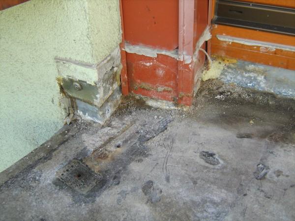 02 – nachträgliche Zerstörung der Terrassenabdichtung