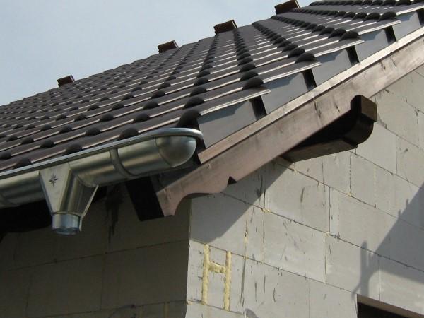 Dachüberstand mit Flugsparren