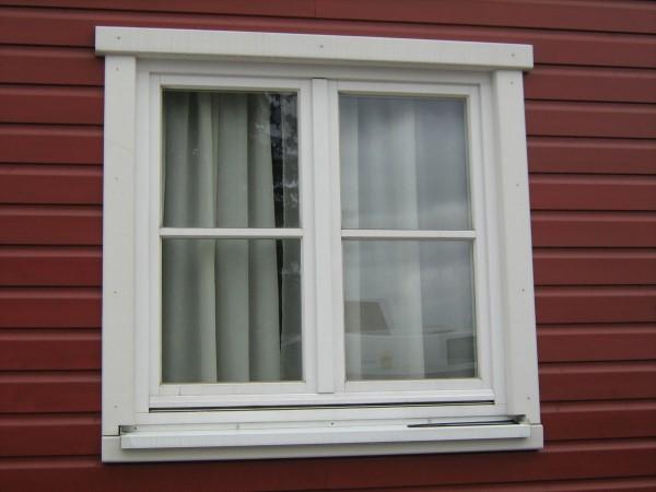 Fensteranschlussprofile handwerklich hergestellt und beschichtet
